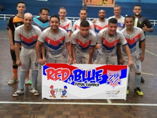 RED BLUE FUTSAL CUMBICA